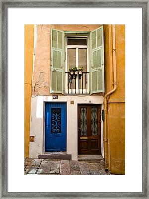 Villefranche-sur-mer Framed Print by Mustafa Otyakmaz