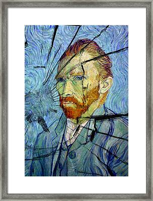 Framed Print featuring the photograph Vincent by Rod Jones