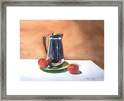 Vine Ripened Framed Print by Bobbi Price