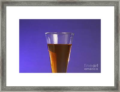 Vinegar & Baking Soda Experiment, 1 Or 3 Framed Print by Photo Researchers, Inc.