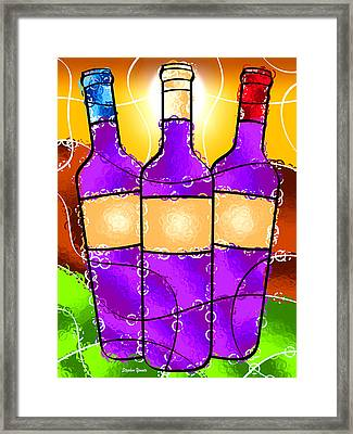 Vino Framed Print by Stephen Younts