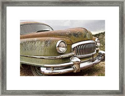 Vintage 1951 Nash Ambassador Front End Framed Print by James BO  Insogna