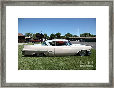 Vintage 1957 Cadillac . 5d16686 Framed Print by Wingsdomain Art and Photography