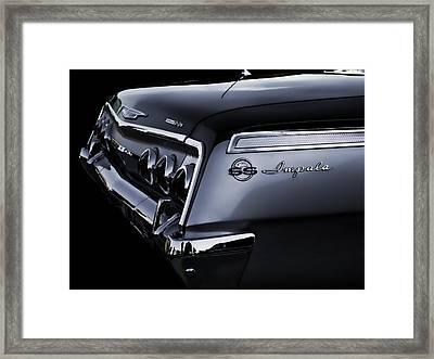 Vintage '62 Impala Ss Framed Print by Douglas Pittman