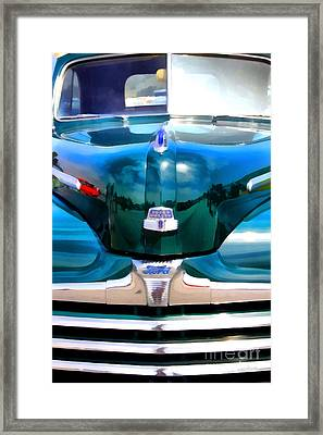 Vintage American Ford Automobile . 7d15267 Framed Print by Wingsdomain Art and Photography