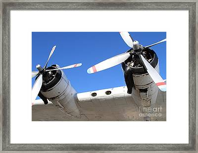 Vintage Boac British Overseas Airways Corporation Speedbird Flying Boat . 7d11260 Framed Print by Wingsdomain Art and Photography