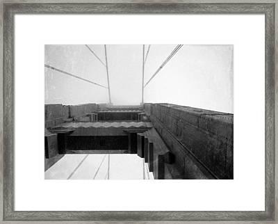 Vintage Bridge Framed Print