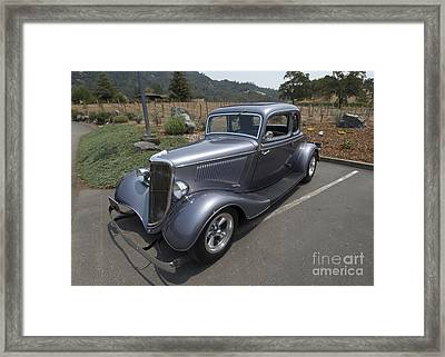 Vintage Car Alexander Valley Framed Print