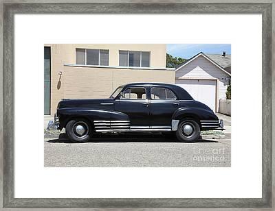 Vintage Chevrolet Fleetline . 5d16719 Framed Print