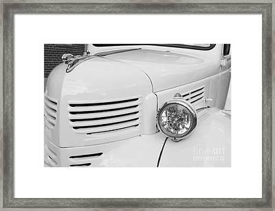 Vintage Classic Car Framed Print