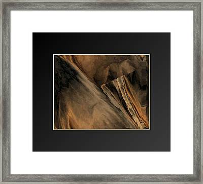 Vintage-cloth 1 Framed Print