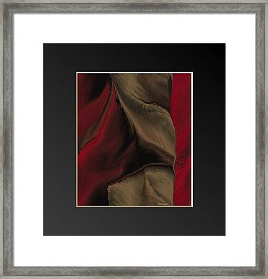Vintage-cloth 3 Framed Print