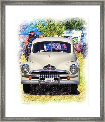 Vintage Fj Holden Framed Print