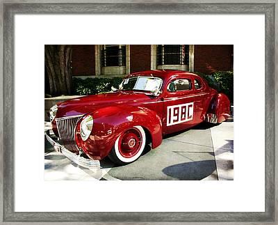 Vintage Ford Coupe Framed Print