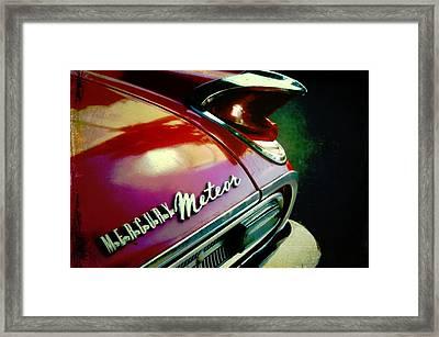 Vintage Mercury Meteor Framed Print