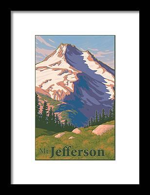 Central Oregon Framed Prints