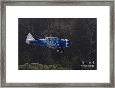 Vintage North American Snj-4 Us Navy Aircraft . 7d15627 Framed Print by Wingsdomain Art and Photography