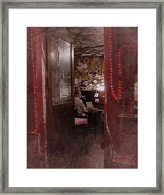 Vintage Paris 2 Framed Print