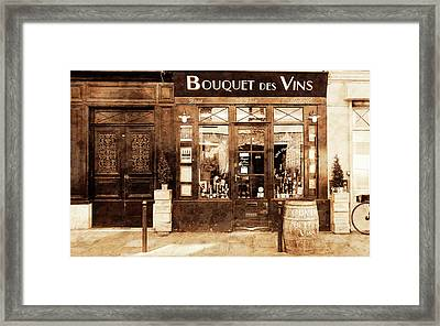 Vintage Paris 4 Framed Print