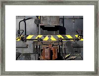 Vintage Railroad Train . 7d11601 Framed Print by Wingsdomain Art and Photography