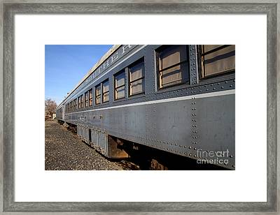 Vintage Railroad Trains . 7d11617 Framed Print by Wingsdomain Art and Photography