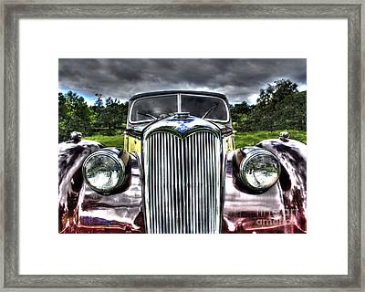 Vintage Riley Framed Print by Gavin Wilson