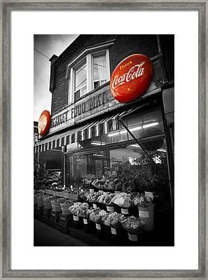 Vintage Store Framed Print by Kamil Swiatek