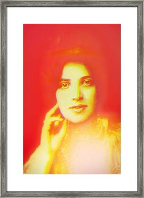 Vintage View Framed Print by Li   van Saathoff