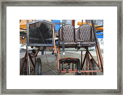 Vintage Wright Brothers Type Airplane . 7d11148 Framed Print by Wingsdomain Art and Photography