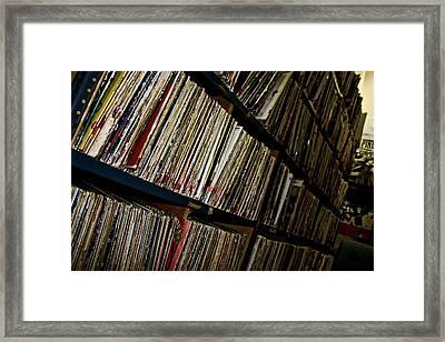 Vinyl Days Framed Print