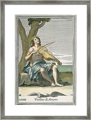 Viola Damore, 1723 Framed Print by Granger