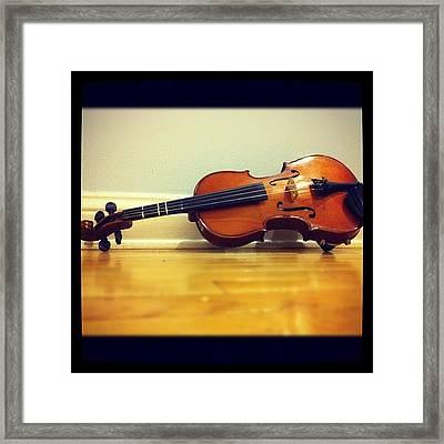 #viola #pegs #music #orchestra #violin Framed Print
