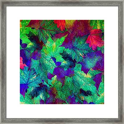 Violaceous Framed Print by Lourry Legarde
