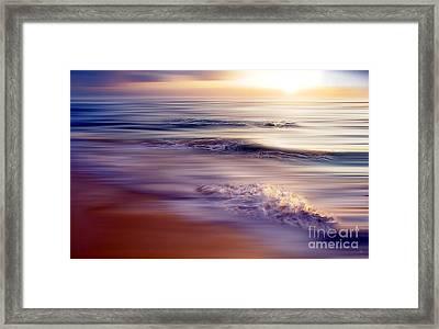 Violet Dream Framed Print by Hannes Cmarits