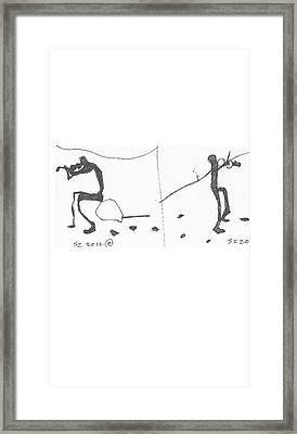 Violin Framed Print by Samuel Zylstra