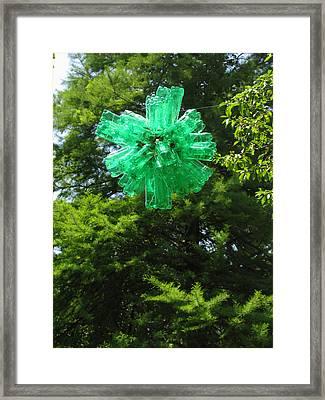 Viral Evolution The Manmade Glow Virus Framed Print by Adam Long