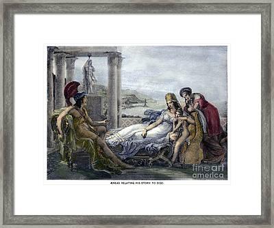 Virgil: The Aeneid Framed Print by Granger
