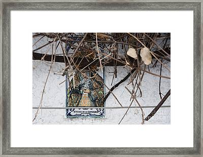 Virgin Mary Of Hope Framed Print by Agnieszka Kubica