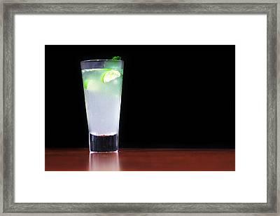 Virgin Mojito Cocktail Framed Print