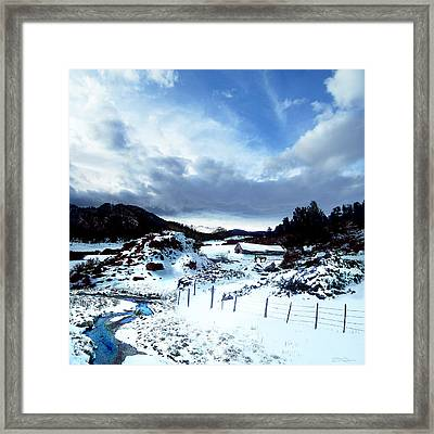 Virgina Dale Framed Print by Ric Soulen