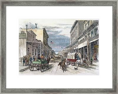 Virginia City, Nevada Framed Print by Granger
