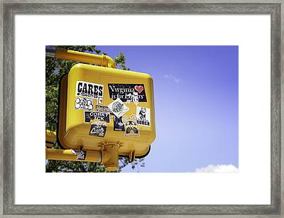 Virginia... Framed Print by Mauricio Jimenez