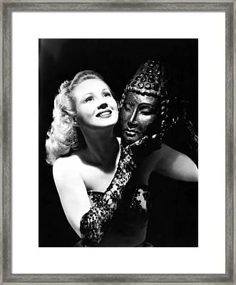 Virginia Mayo, Ca. Early 1940s Framed Print by Everett