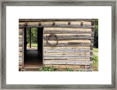 Virginia Structure Framed Print by Denice Breaux