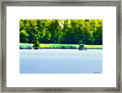 Virginia Tides Framed Print by Bill Cannon