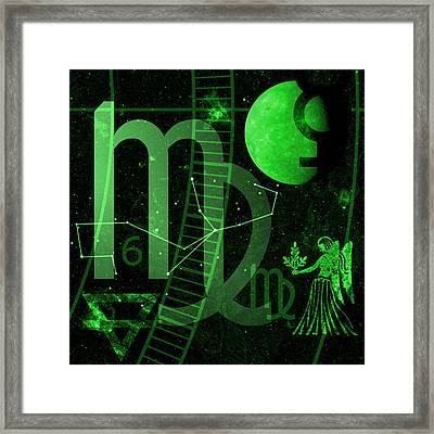 Virgo Framed Print by JP Rhea