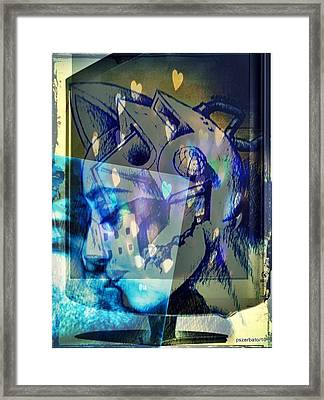 Virtual Kiss 1 Framed Print