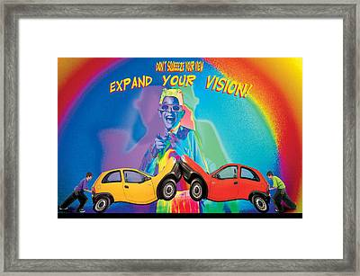 Vision Framed Print by Mauro Celotti