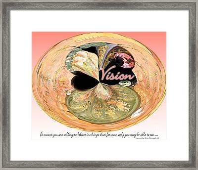 Visionary Artist Framed Print by Laurence Oliver