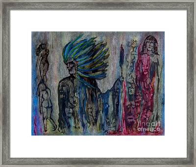 Visionary II Framed Print by Linda May Jones